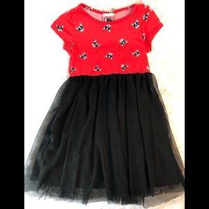 Girls French Bulldog Themed Dress